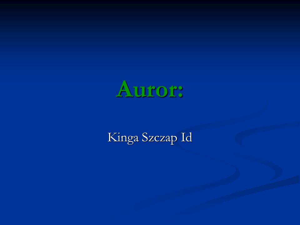 Auror: Kinga Szczap Id