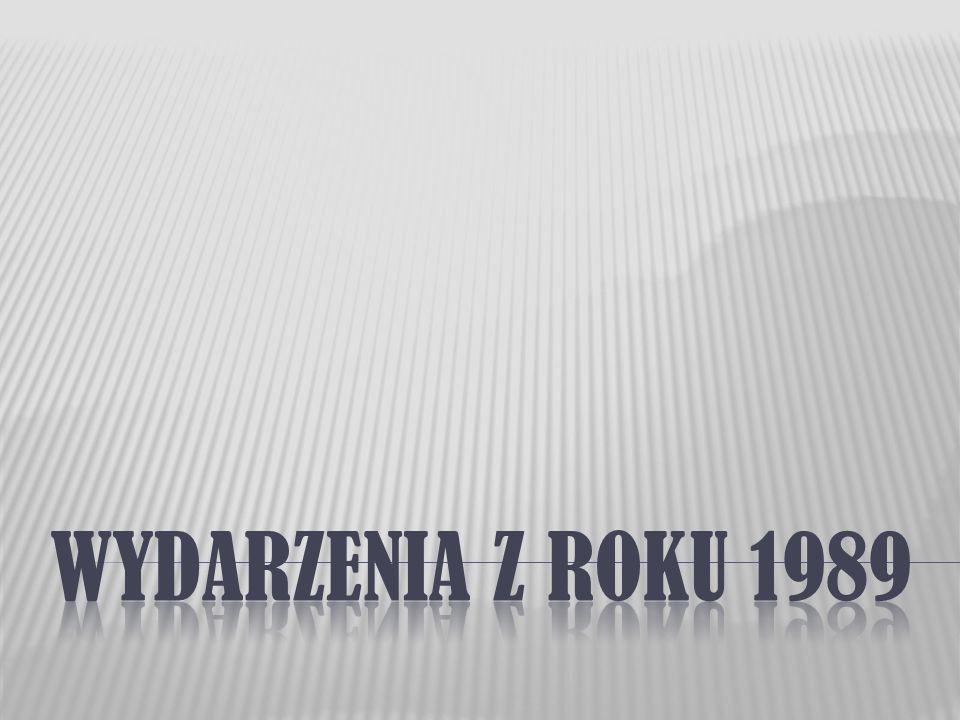  Zanim odbyły się wolne wybory w 1989 roku należy wspomnieć o ważnych wydarzeniach w Polsce, które chcę Wam przybliżyć…