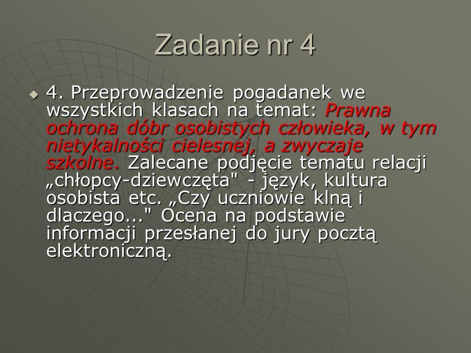 Zadanie nr 4  4.