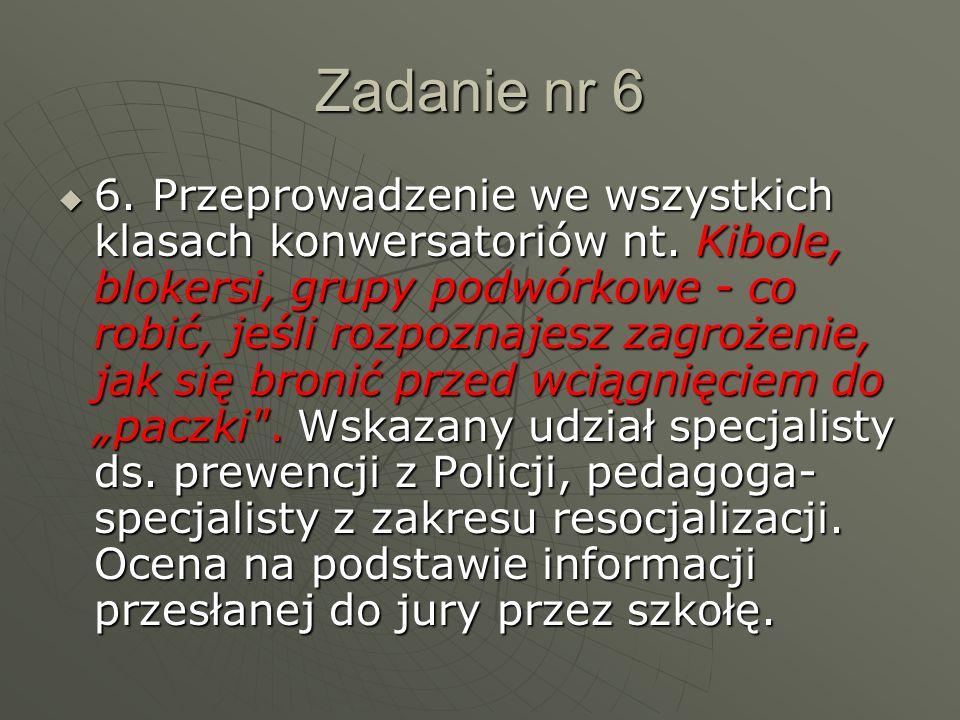 Zadanie nr 7  7.