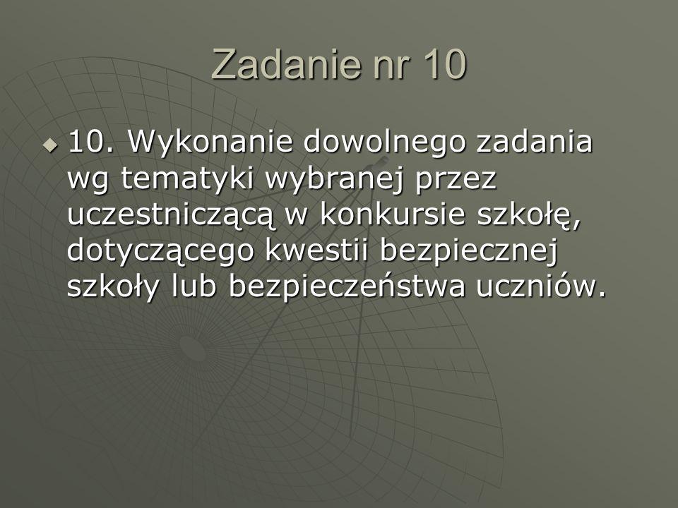 Zadanie nr 10  10.