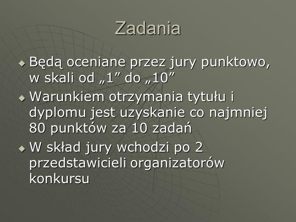 Zadania konkursu: 1.Przeprowadzenie, we wszystkich klasach szkoły, debaty uczniowskiej nt.