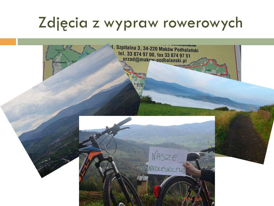 Zdjęcia z wypraw rowerowych