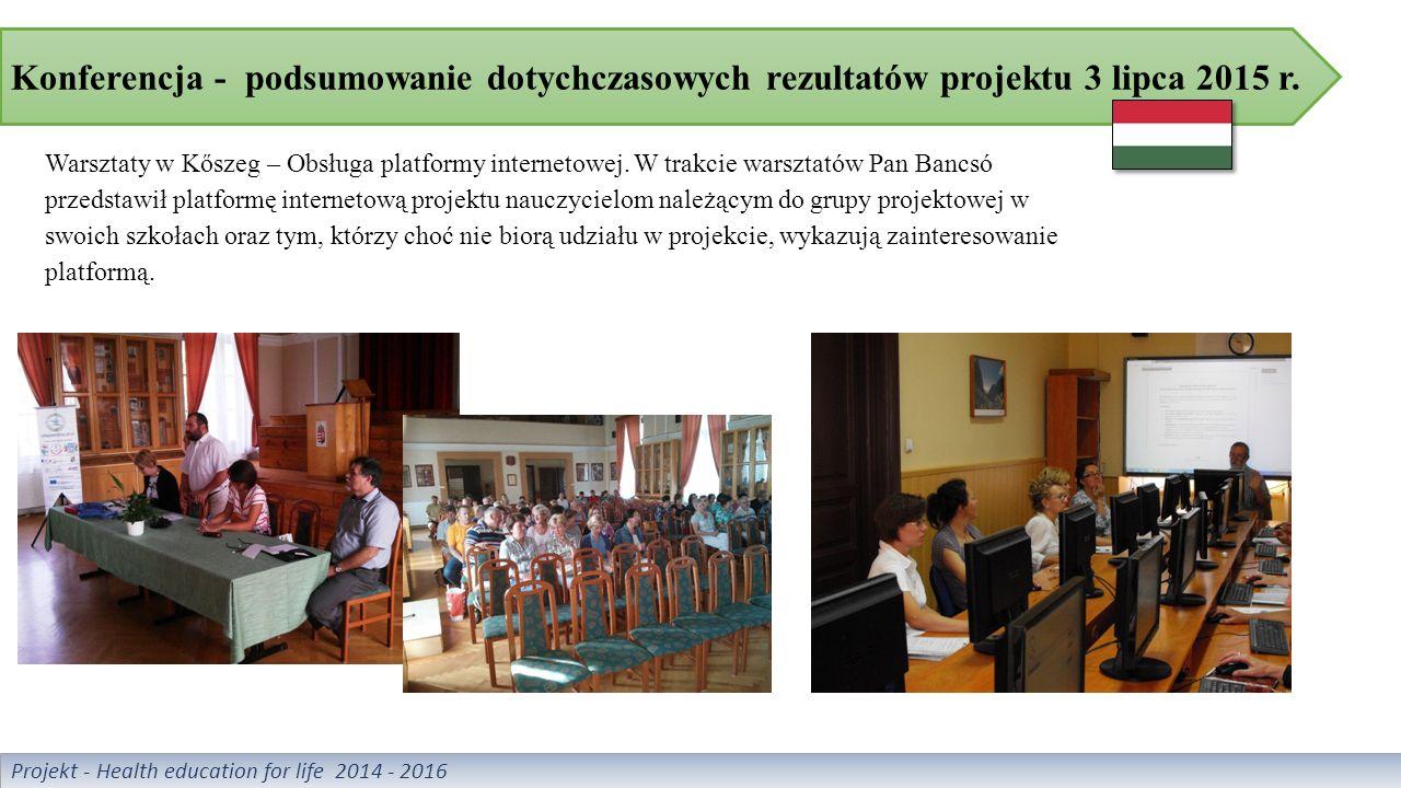 """Warsztaty pt.""""Zdrowie psychiczne 29 września 2015 r."""