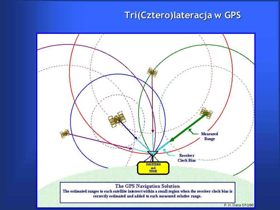 Tri(Cztero)lateracja w GPS