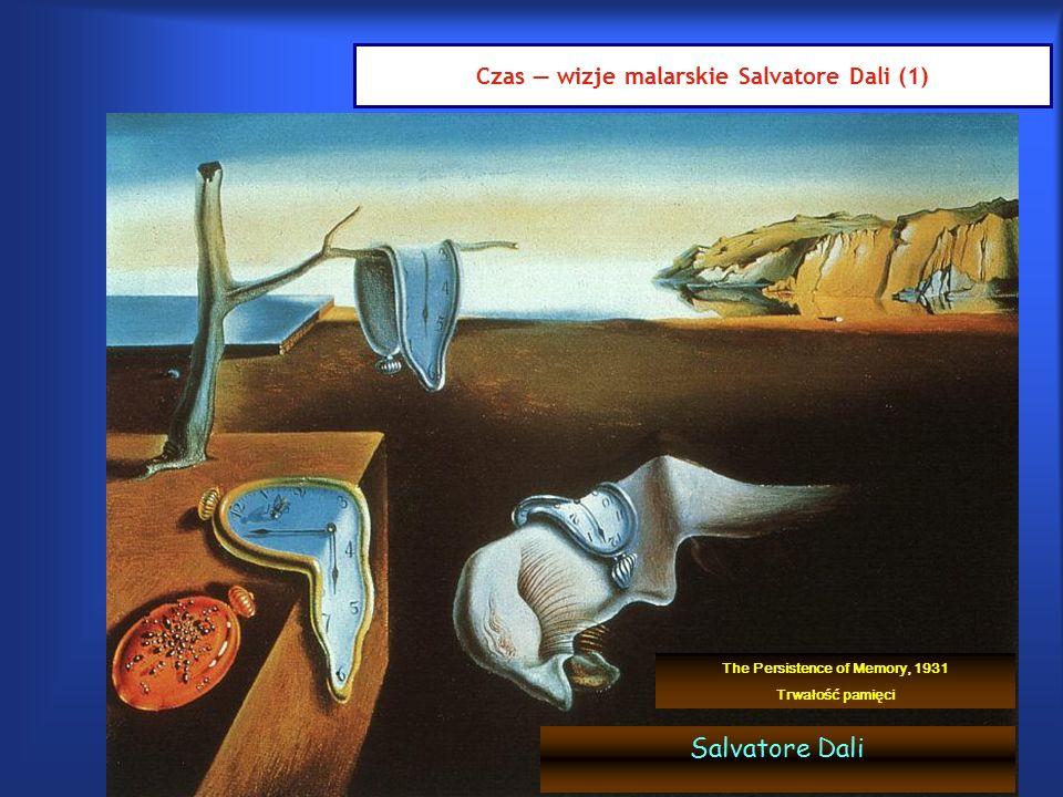 Czas — wizje malarskie Salvatore Dali (1) Salvatore Dali The Persistence of Memory, 1931 Trwałość pamięci