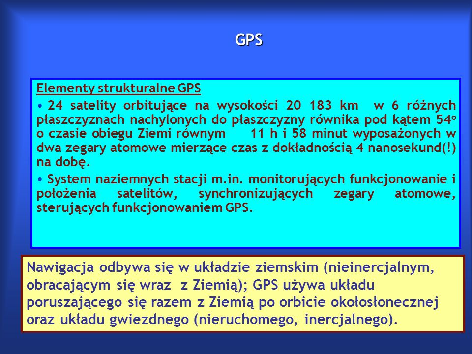 Tri(Cztero)lateracja w GPS.Jak wyznaczana jest odległość do satelity.