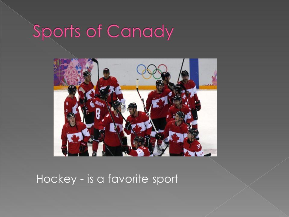 Hockey - is a favorite sport