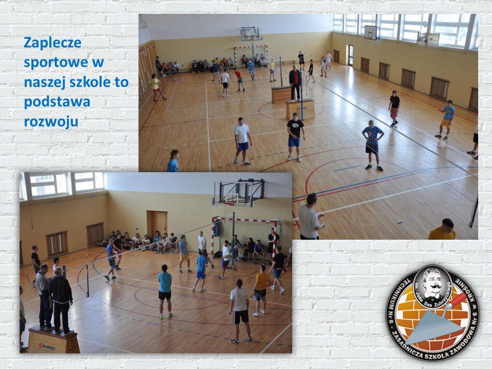 Zaplecze sportowe w naszej szkole to podstawa rozwoju