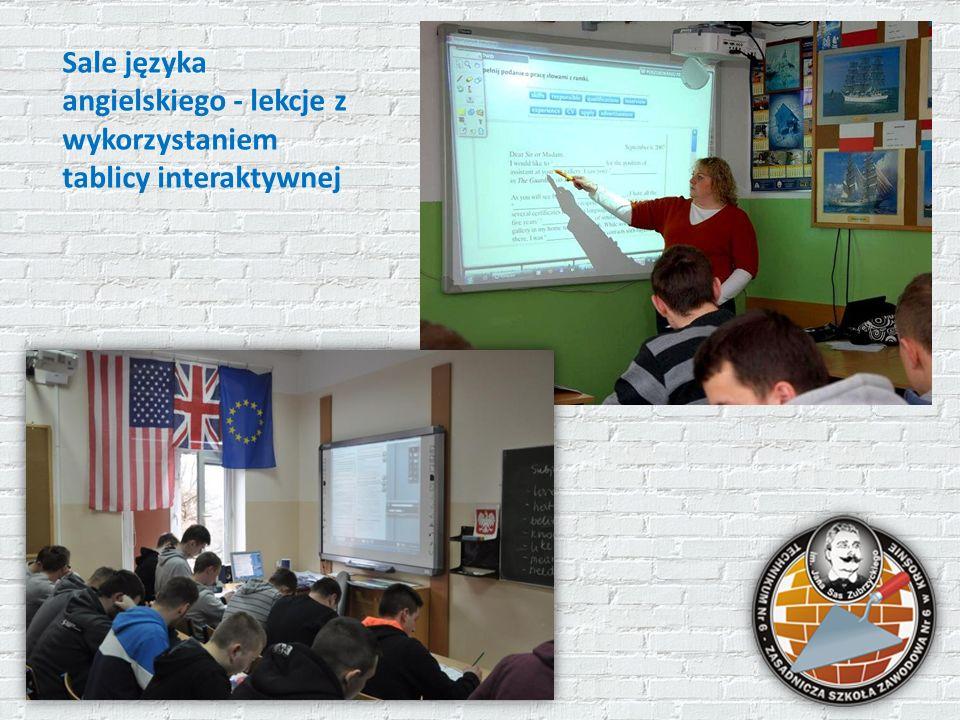Sale języka angielskiego - lekcje z wykorzystaniem tablicy interaktywnej