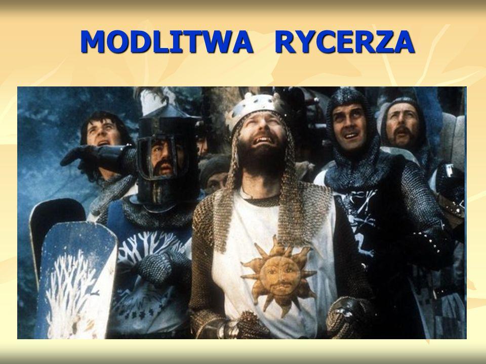 MODLITWA RYCERZA