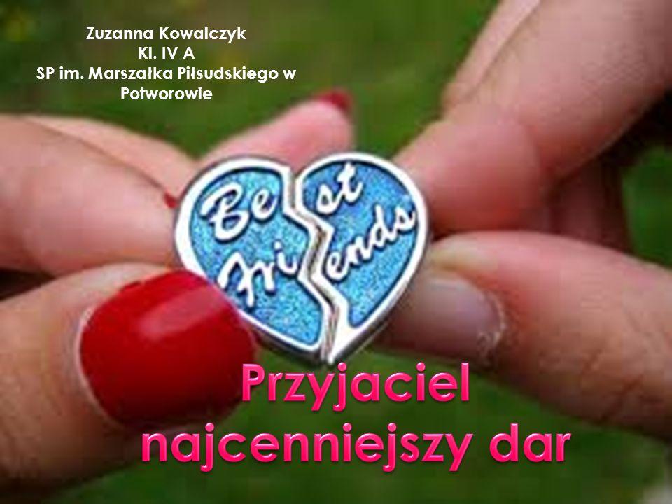 Zuzanna Kowalczyk Kl. IV A SP im. Marszałka Piłsudskiego w Potworowie