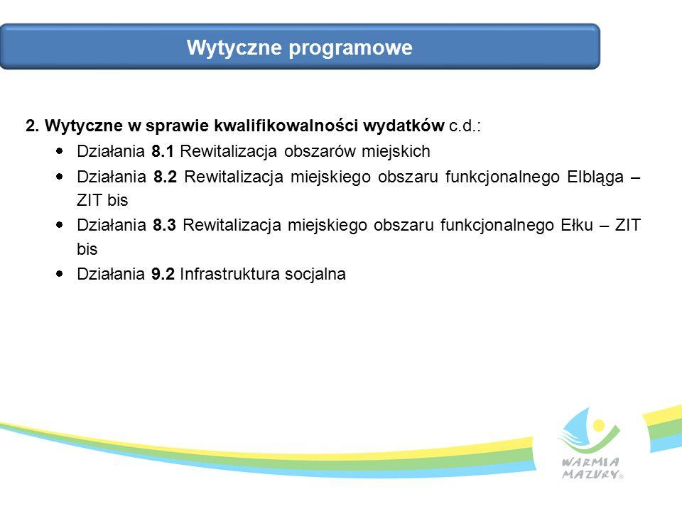 Wytyczne programowe 2.