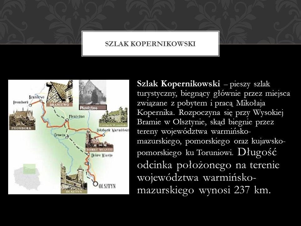 Szlak Kopernikowski – pieszy szlak turystyczny, biegnący głównie przez miejsca związane z pobytem i pracą Mikołaja Kopernika.
