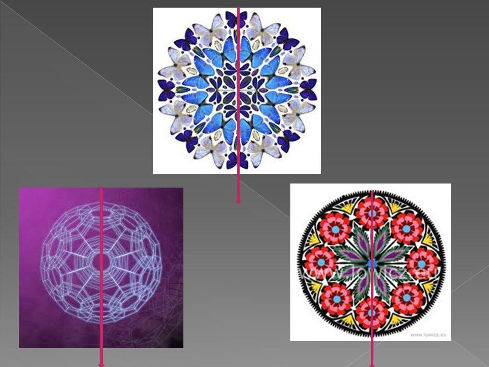 Figura środkowosymetryczna Figura środkowosymetryczna jest to figura geometryczna posiadająca środek symetrii czyli punkt względem którego obrazem danej figury w symetrii środkowej jest ta sama figura.