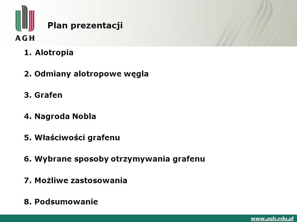 Plan prezentacji 1.Alotropia 2. Odmiany alotropowe węgla 3.