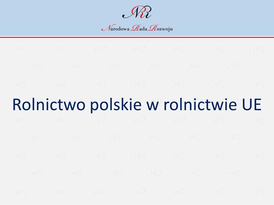 Rolnictwo polskie w rolnictwie UE