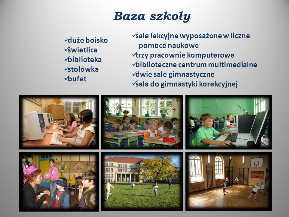 """Oferujemy informatykę od 1 do 6 klasy język angielski w klasach I - VI język niemiecki w klasach IV - VI język rosyjski w klasach IV - VI pływanie korekcyjne terapię pedagogiczną zajęcia wyrównawcze zajęcia z logopedą dodatkowe zajęcia z psychologiem i pedagogiem Zajęcia wspomagające naukę i prawidłowy rozwój dziecka: Bezpłatne zajęcia w oddziale """"0 dla pięcio i sześciolatków"""