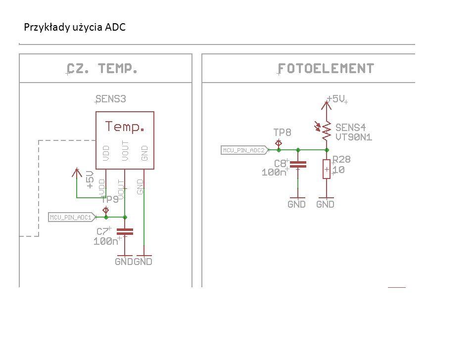 Przykłady użycia ADC