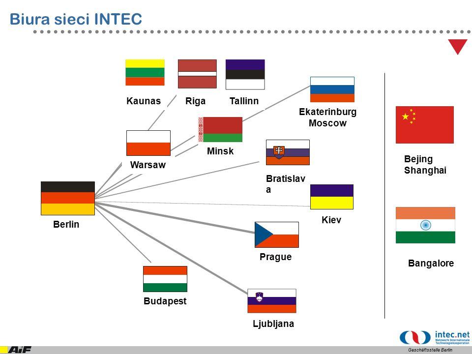 Zadania Biura w Warszawie pomoc przy nawiązywaniu kontaktów świadczona na rzecz zarówno niemieckich jak i polskich firm, zainteresowanych współpracą ukierunkowaną na rozwijanie i wdrażanie nowych technologii.