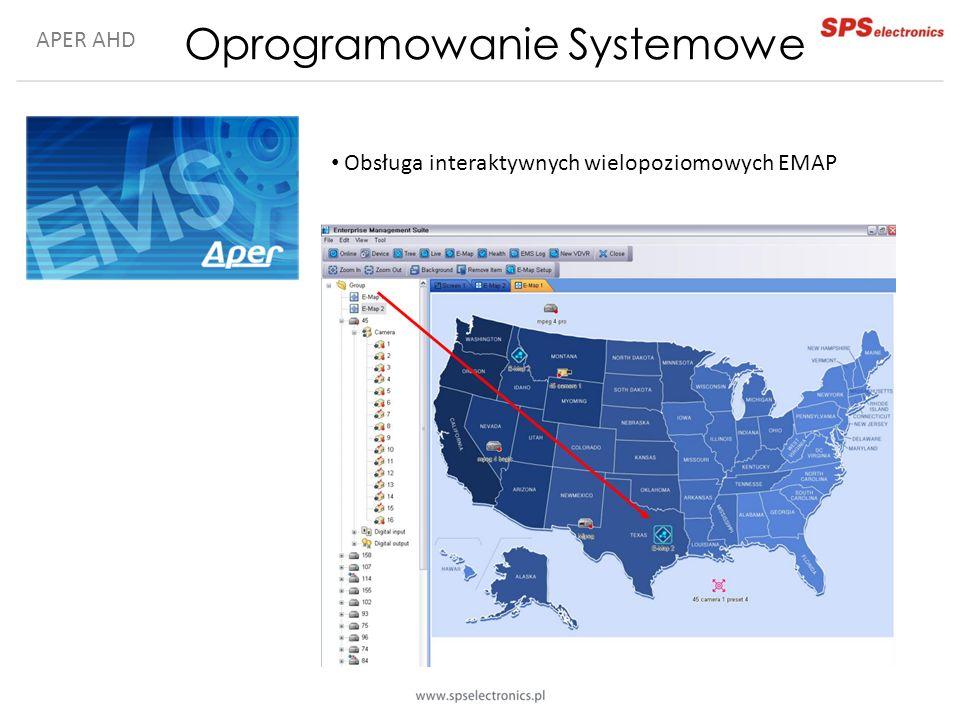 APER AHD Oprogramowanie Systemowe Obsługa interaktywnych wielopoziomowych EMAP