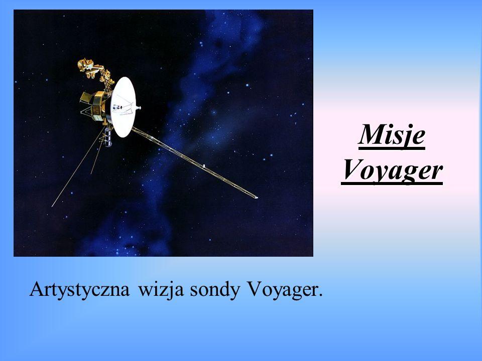 Misje Voyager Artystyczna wizja sondy Voyager.