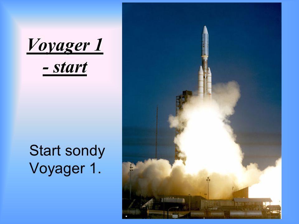 Voyager 1 - start Start sondy Voyager 1.