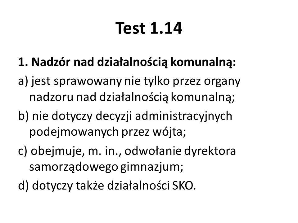 Test 1.14 2.