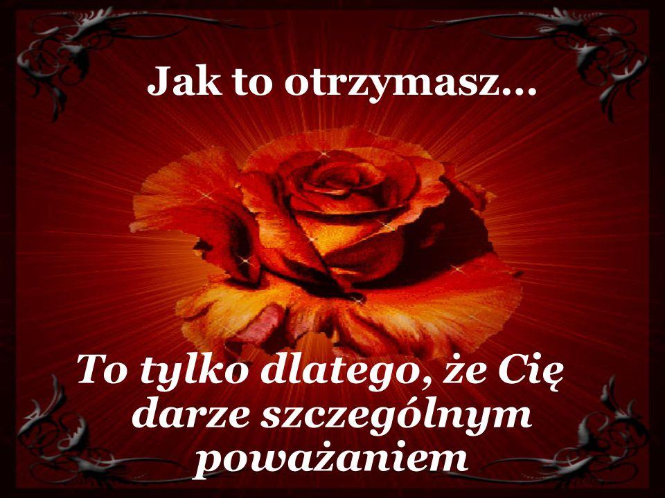 Róże na szczęście
