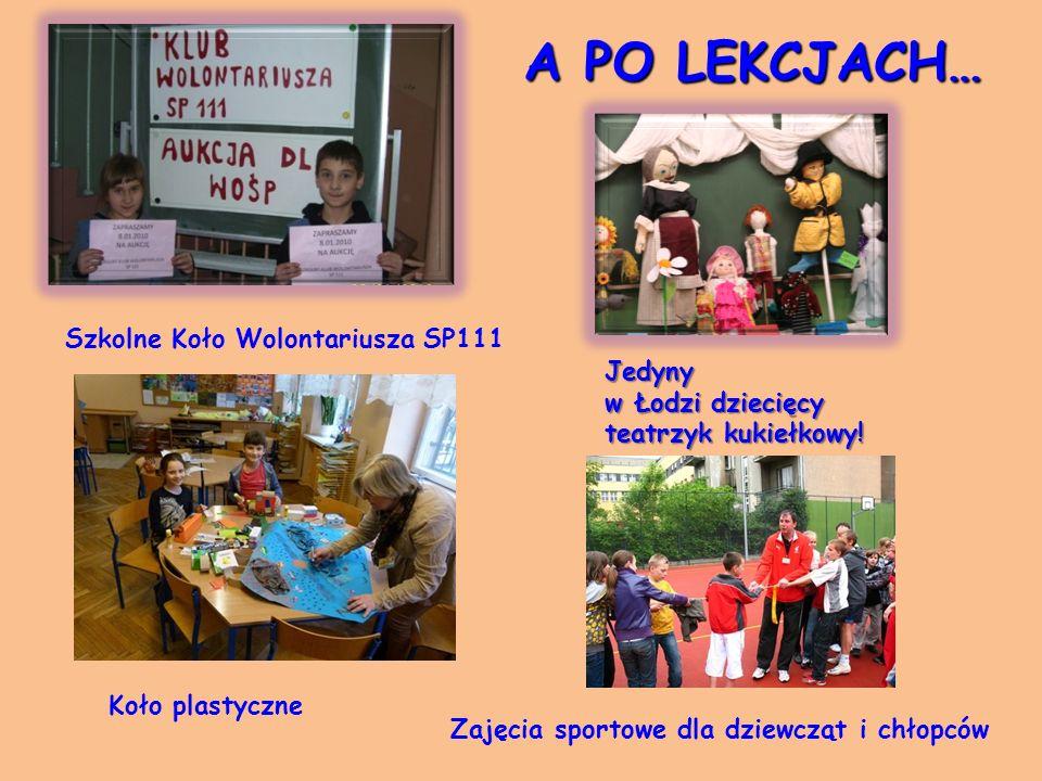 A PO LEKCJACH… Jedyny w Łodzi dziecięcy teatrzyk kukiełkowy.