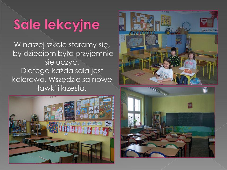 W naszej szkole staramy się, by dzieciom było przyjemnie się uczyć.