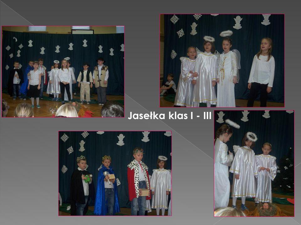 Jasełka klas I - III