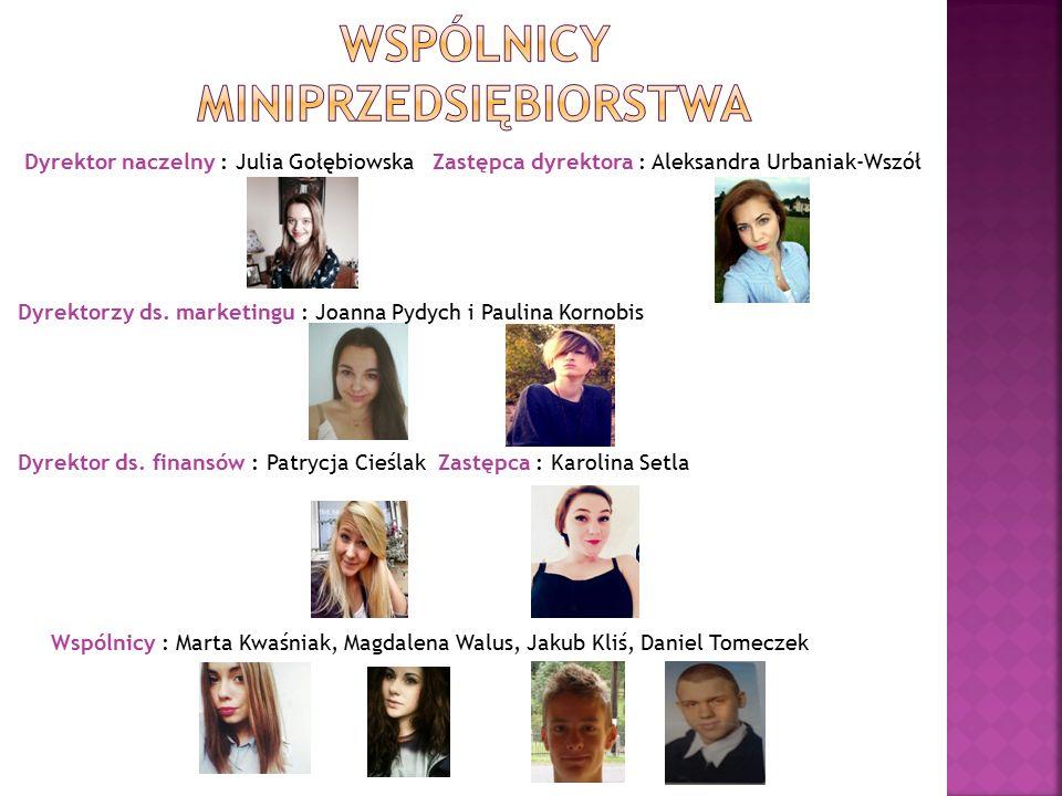 Dyrektor naczelny : Julia Gołębiowska Zastępca dyrektora : Aleksandra Urbaniak-Wszół Dyrektorzy ds.