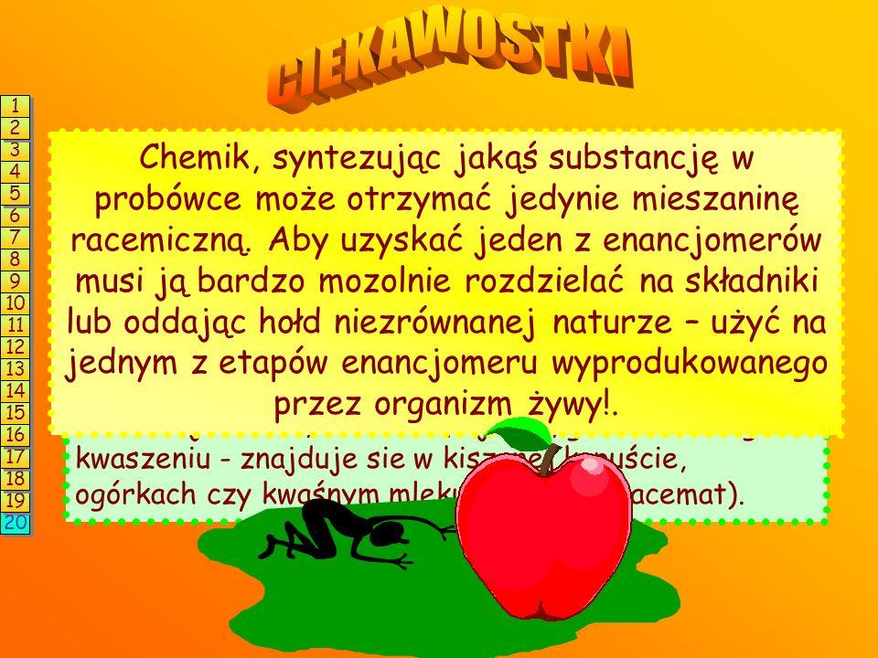 Glukoza i jej stereoizomery * * * * * * * * * * * * * * * * * * * * * * * * * * * * * * * * D-glukoza D-alloza D-altrozaD-mannozaD-gulozaD-idozaD-gala