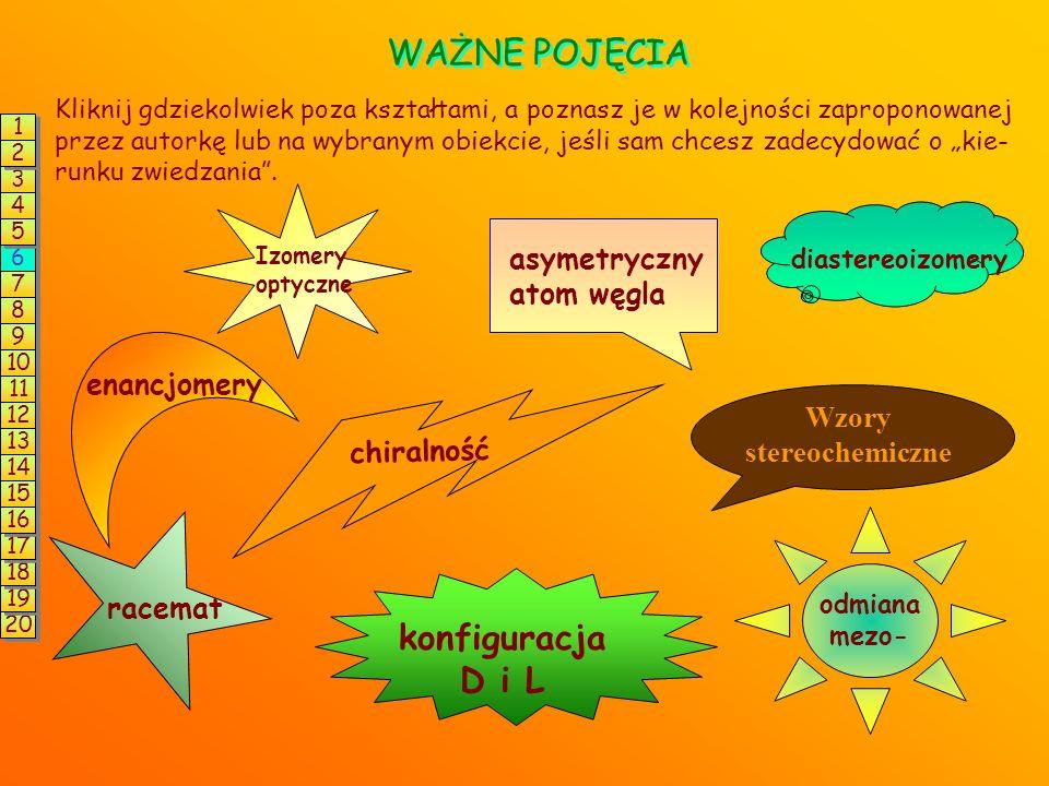 I Z O M E R I A konstytucyjna (strukturalna) przestrzenna (stereoizomeria) -izomery różnią się kolejnością i sposobem powiązania atomów w cząsteczce -
