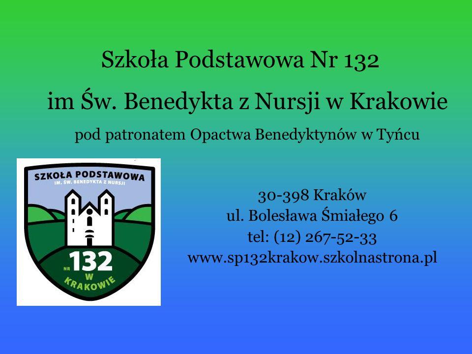 Szkoła Podstawowa Nr 132 30-398 Kraków ul.