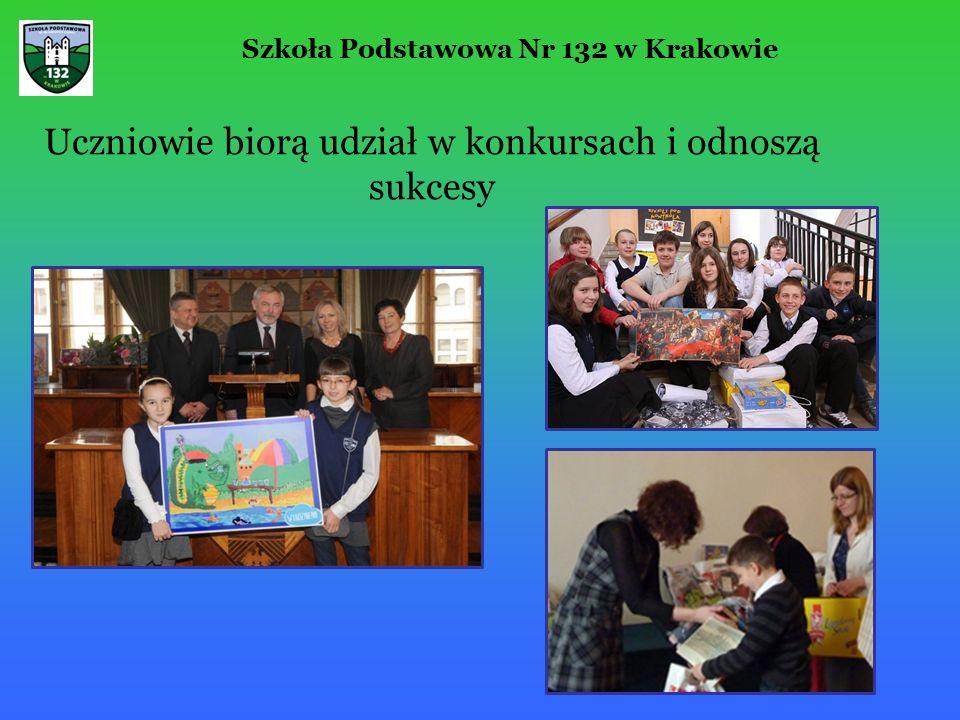 Uczniowie biorą udział w konkursach i odnoszą sukcesy Szkoła Podstawowa Nr 132 w Krakowie