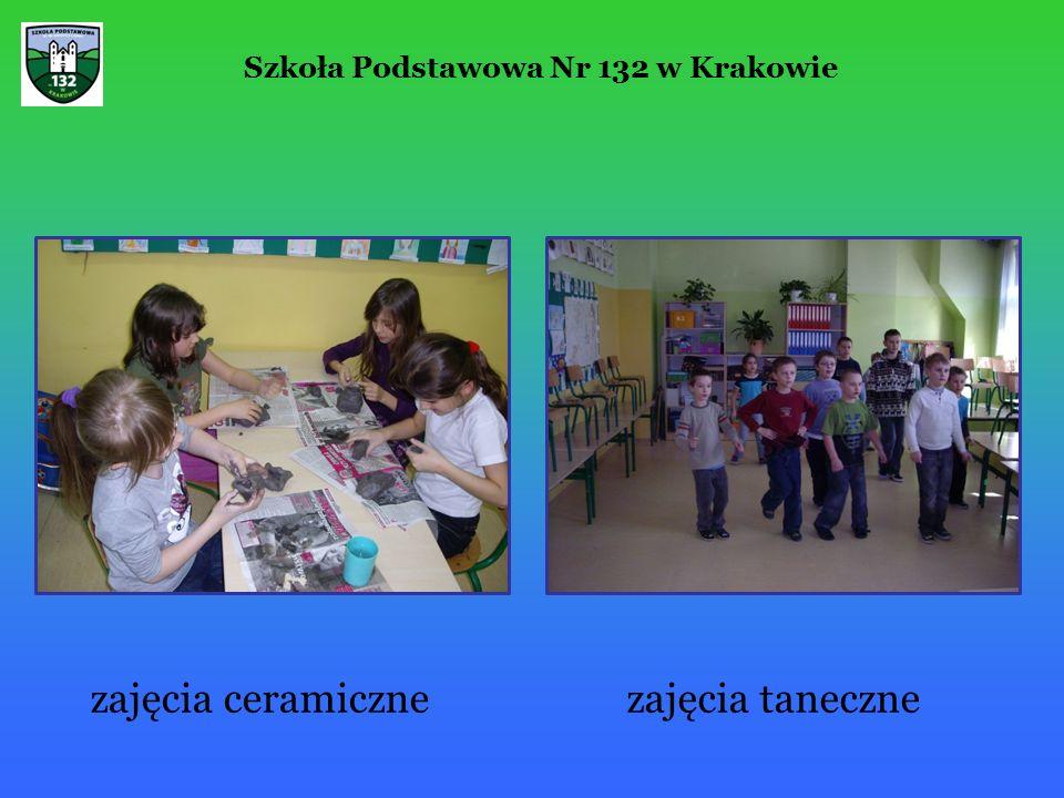 Szkoła Podstawowa Nr 132 w Krakowie zajęcia ceramicznezajęcia taneczne