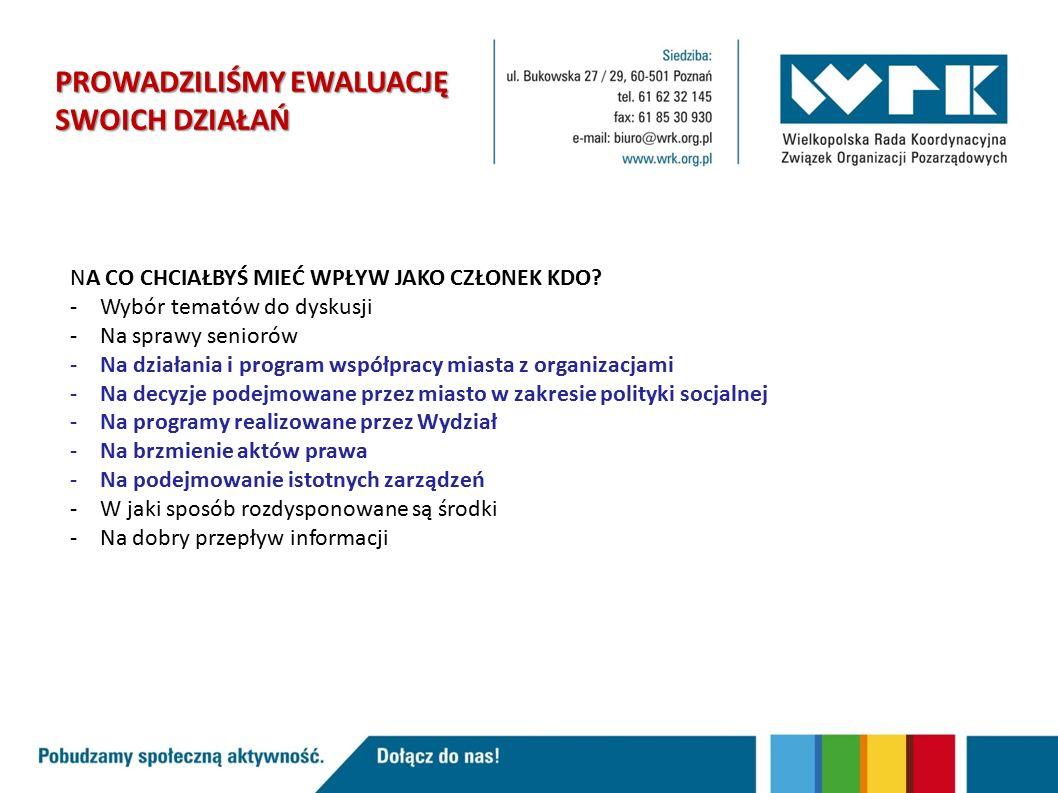 Polepszenie obiegu informacji na linii WZiSS – KDO.