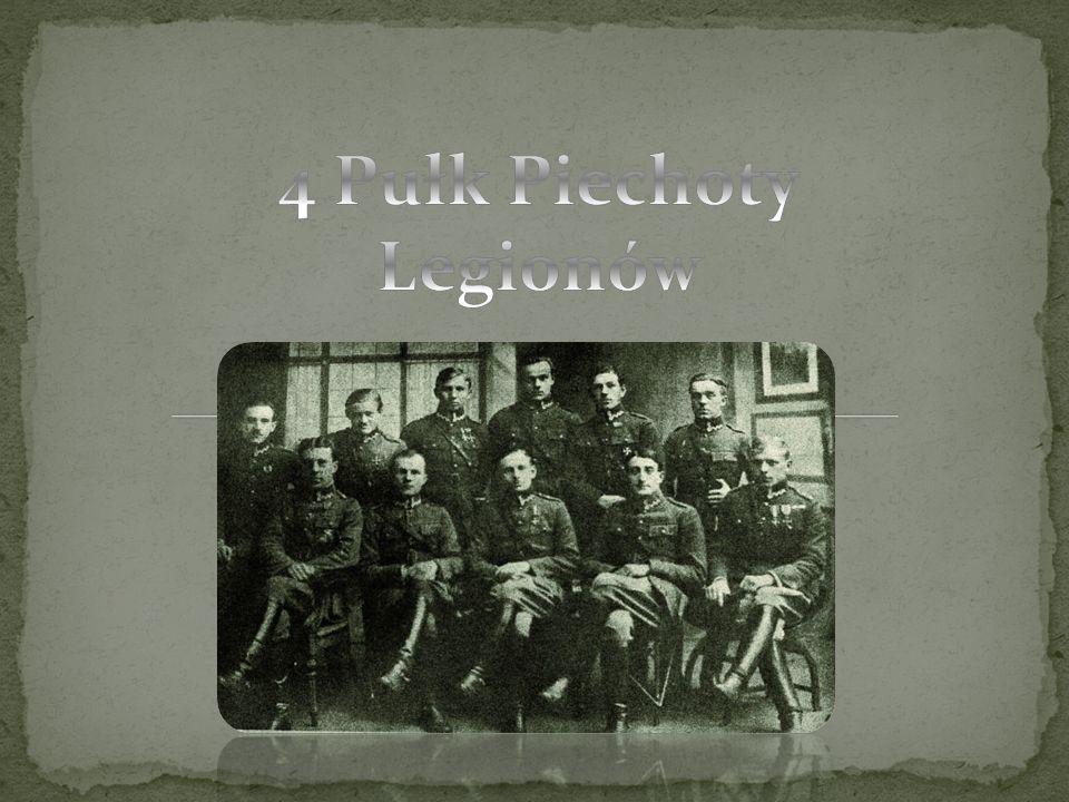 4 pułk piechoty Legionów to oddział piechoty Wojska Polskiego w latach 1918-1939.