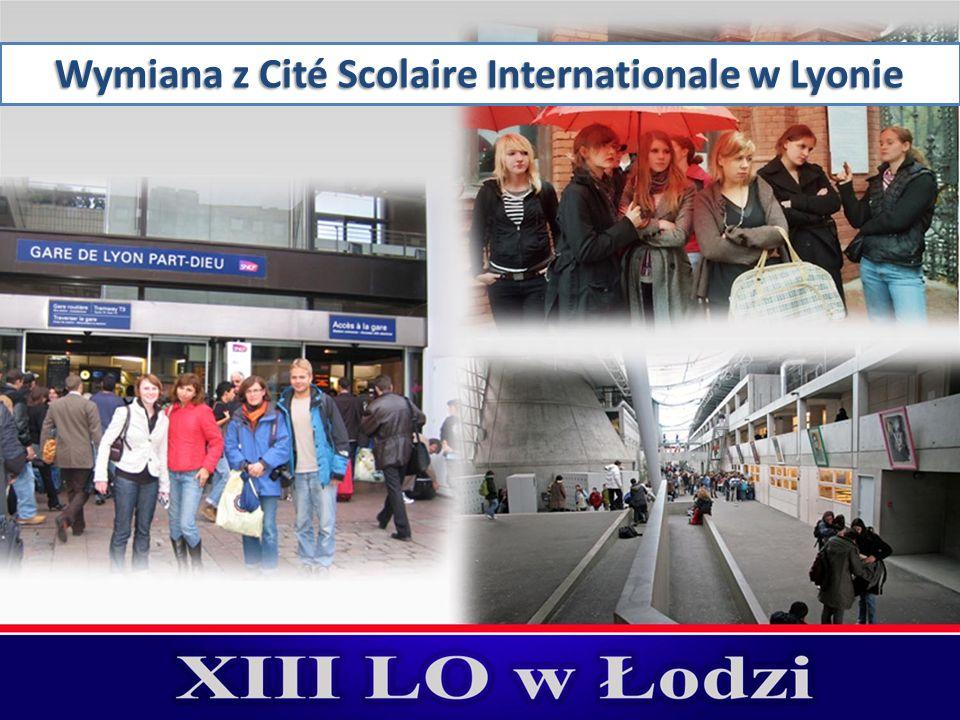 Wymiana z Cité Scolaire Internationale w Lyonie