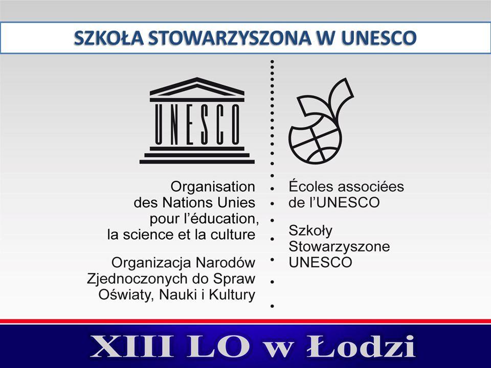 SZKOŁA STOWARZYSZONA W UNESCO