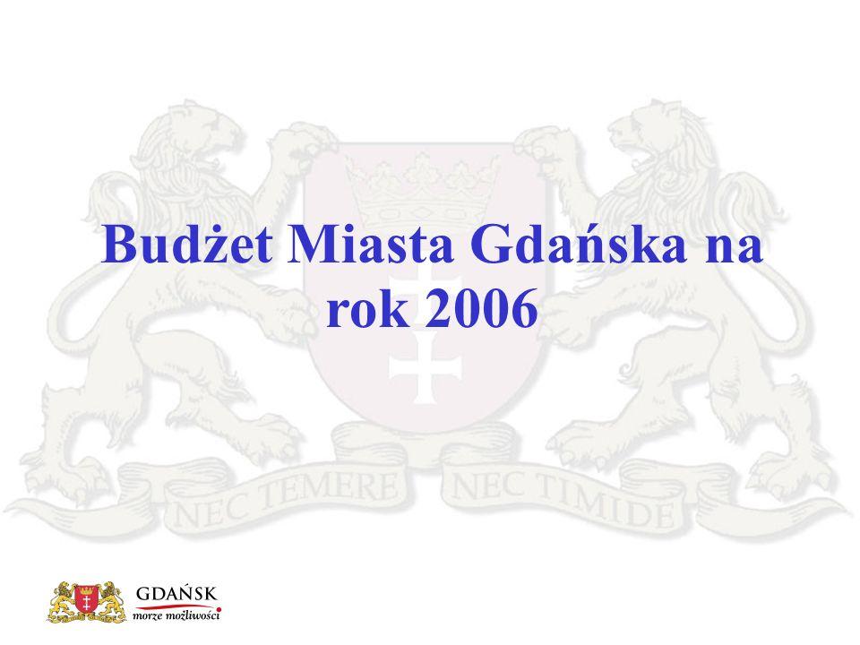 Budżet Miasta Gdańska na rok 2006