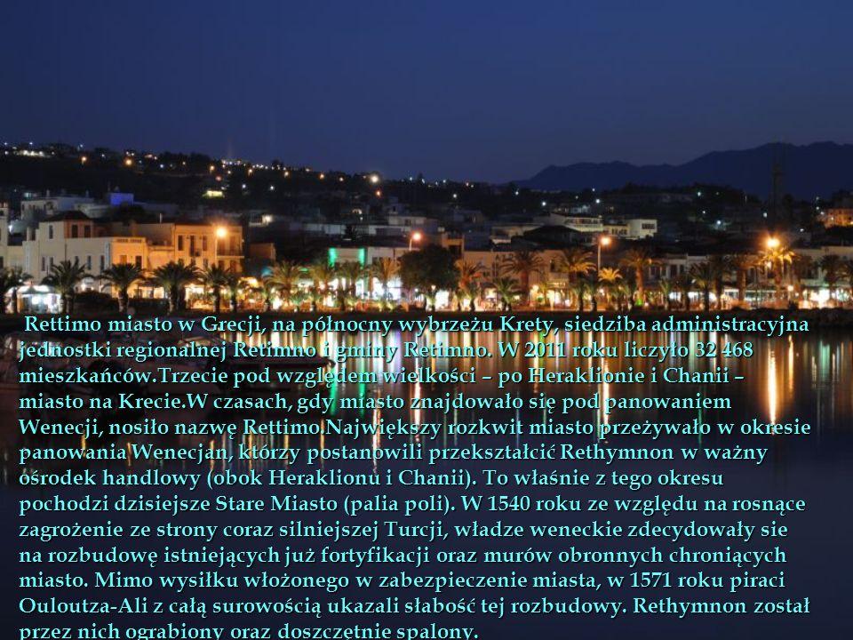 ettimo miasto w Grecji, na północny wybrzeżu Krety, siedziba administracyjna jednostki regionalnej Retimno i gminy Retimno.