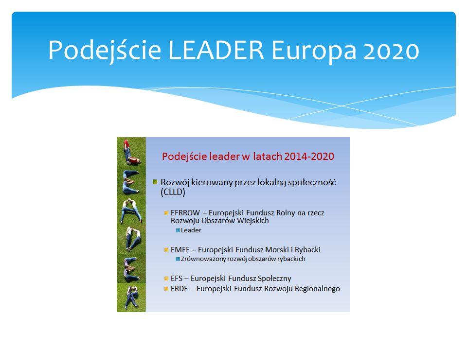 Podejście LEADER Europa 2020
