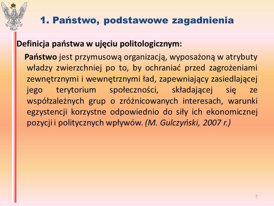 2.Systemy polityczne w ujęciu socjologicznym M.