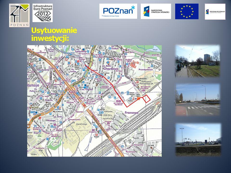 Lokalizacja inwestycji: Przebieg trasy: Os.Lecha – ul.