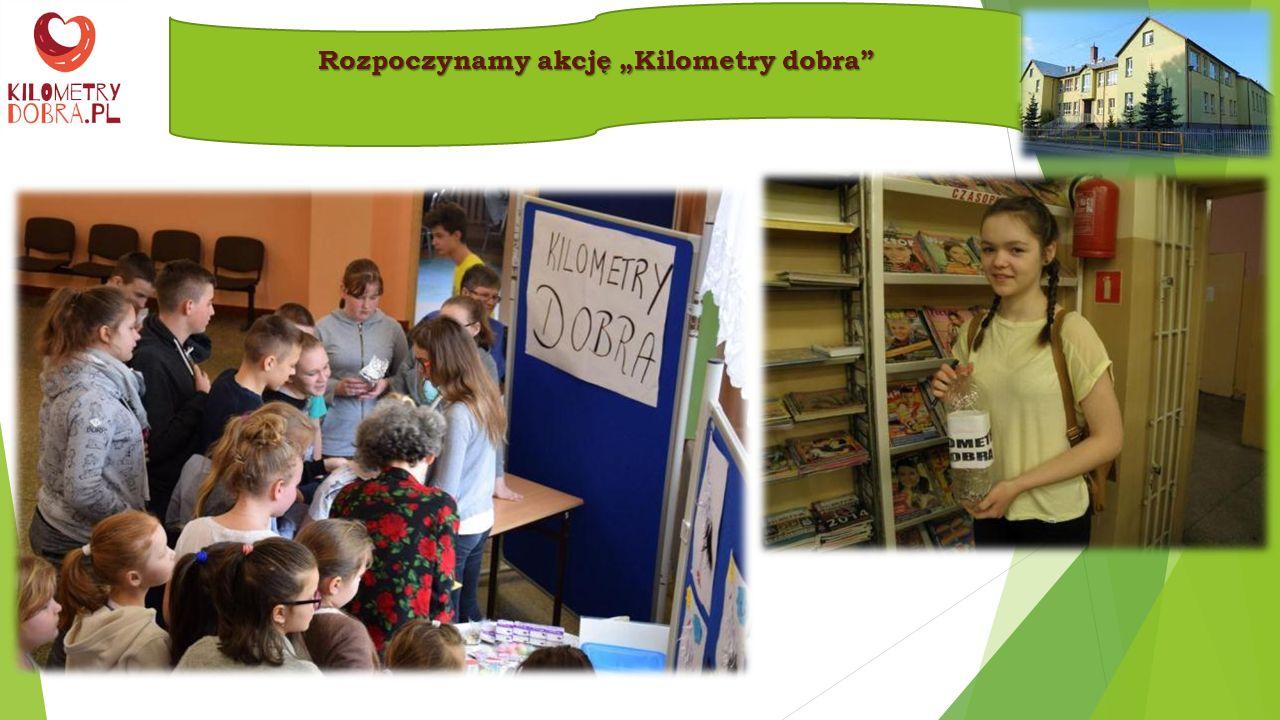 Informację o akcji umieściliśmy na stronie internetowej naszej szkoły oraz na plakatach