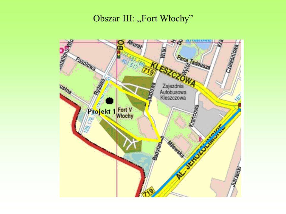 "Obszar III: ""Fort Włochy"""