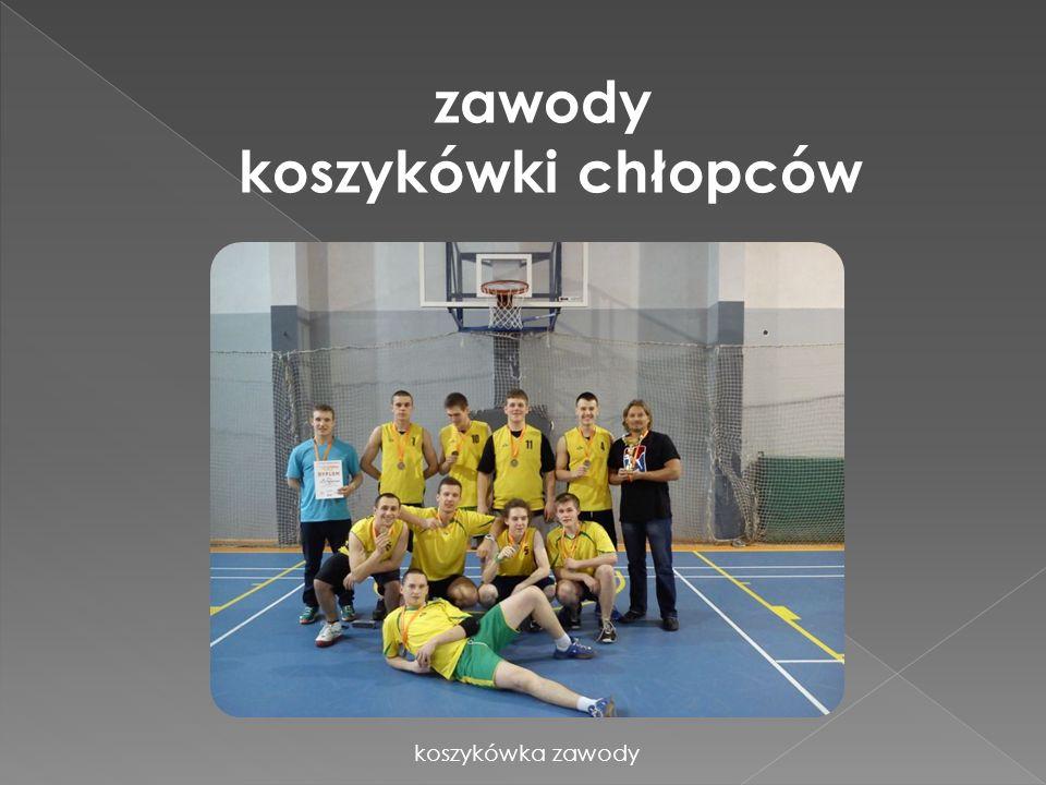 zawody koszykówki chłopców